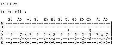 Tonight I'm Gonna Rock You Tonight - GuitarVibe com