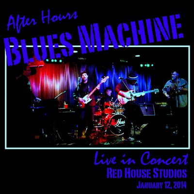 Blues machine live cd cover
