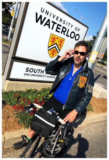 Zack Waterloo jacket bike