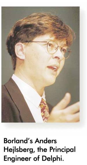 Anders Delphi 1.0 launch Feb 1995