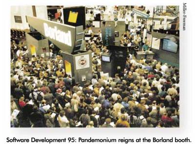 Booth Delphi 1.0 launch Feb 1995