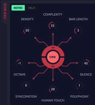 Orb parameters